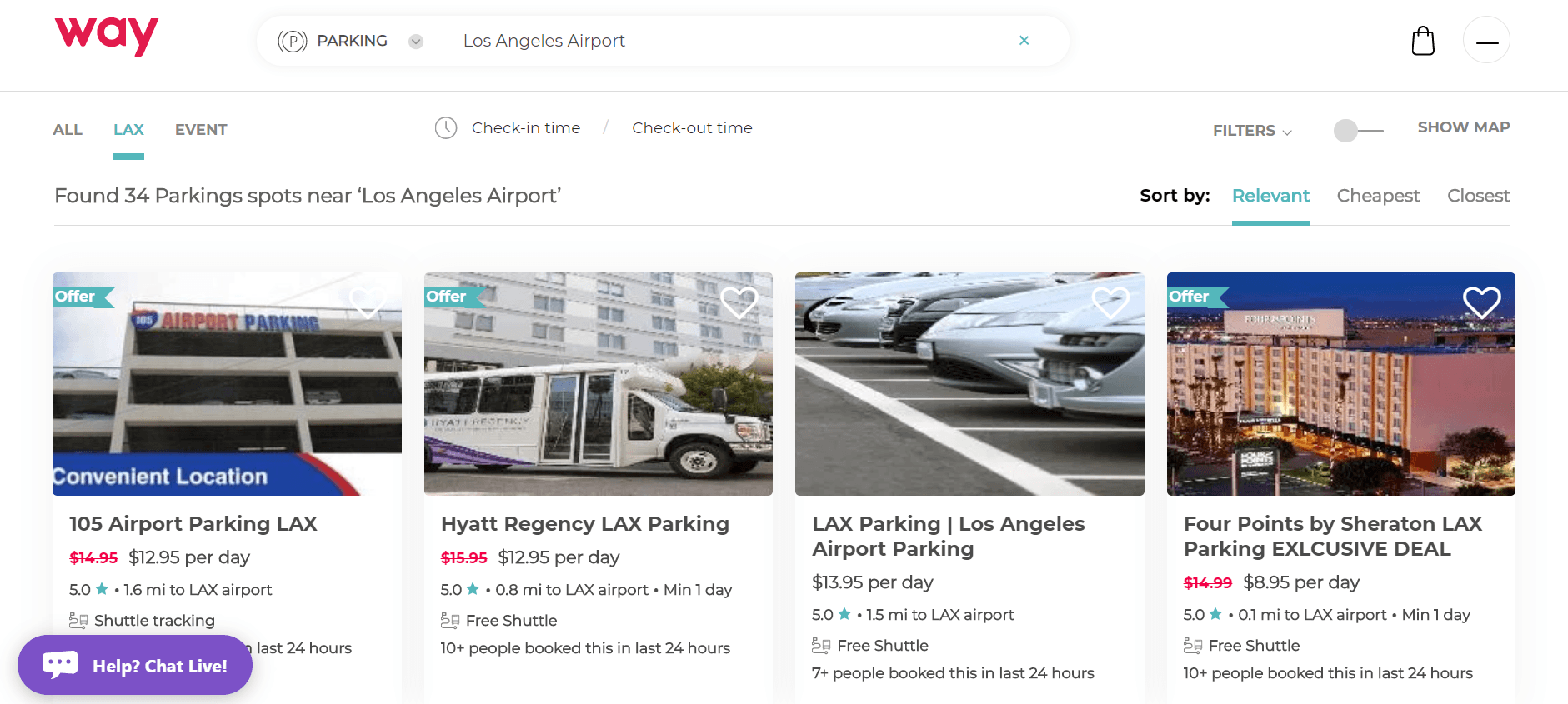 LAX Way Airport Parking