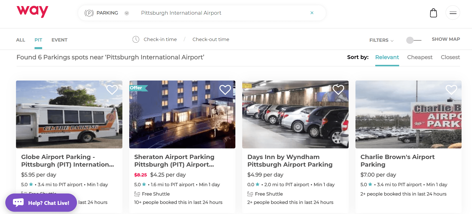 discount airport parking