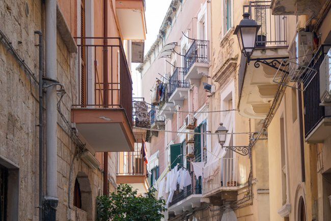 Bari Italy Old Town