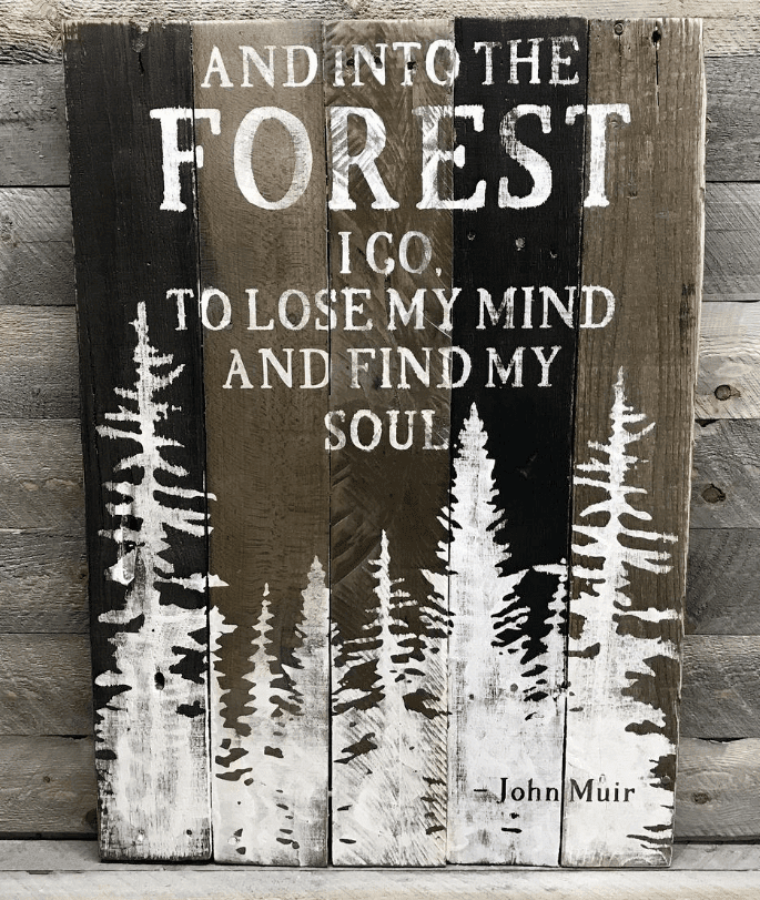 Etsy Hiking Quote Print