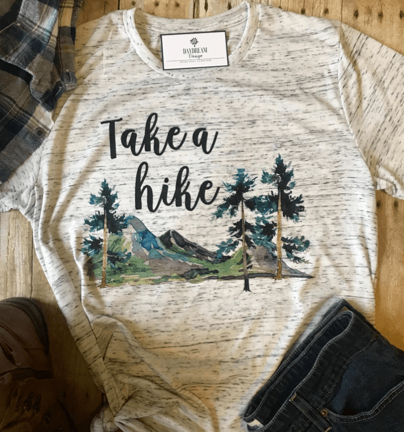 Etsy Take a Hike Tee