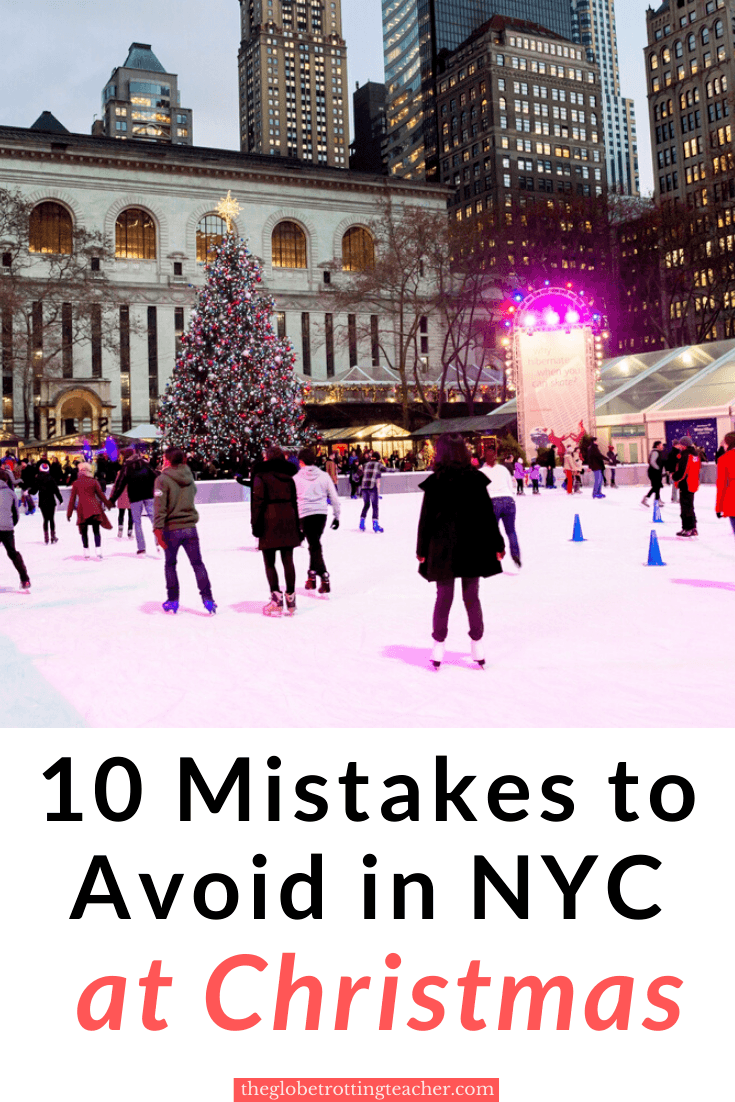 10 Mistakes to Avoid in NYC at Christmas
