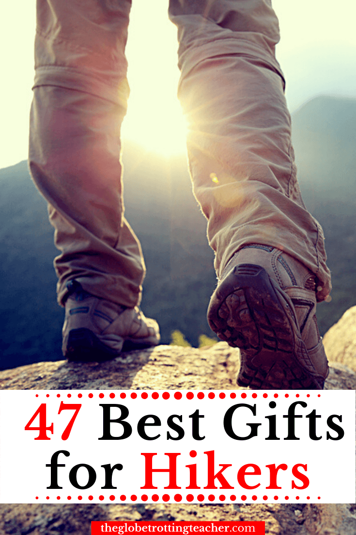 Best Gifts for Hikers Pinterest Pin