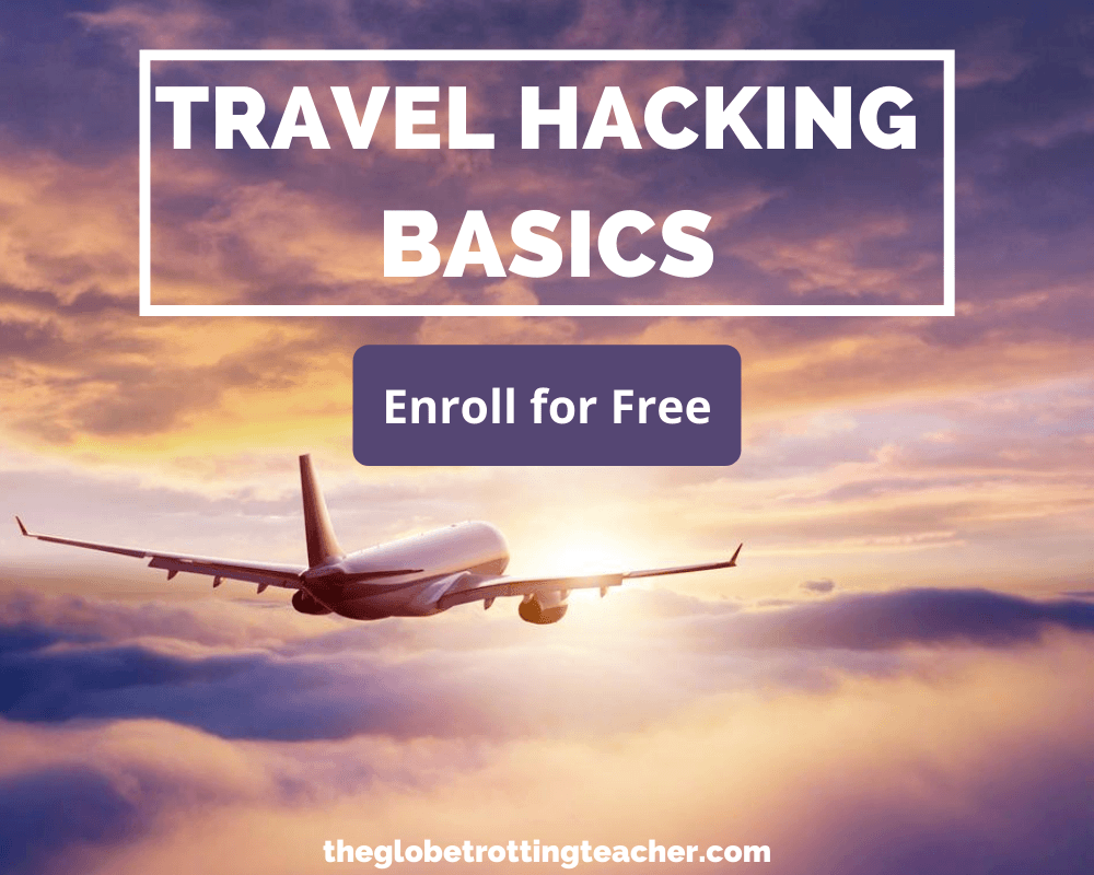 Free Travel Hacking Basics Course Sign Up Form